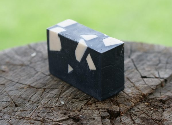Activated Charcoal Bearded Lady Goats Milk Soap