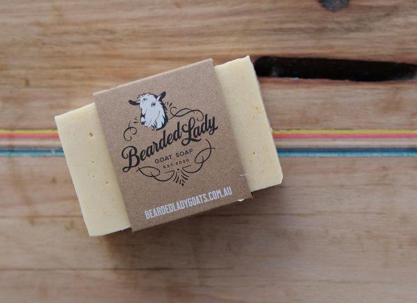 Freshly and Zingy Orange Bearded Lady Goats Milk Soap