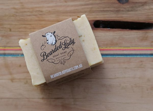 Lime and Coconut Twist Bearded Lady Goats Milk Soap