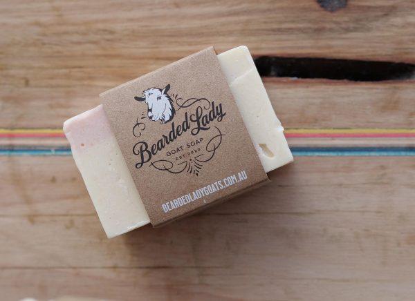 Luxurious Lavender Bearded Lady Goats Milk Soap